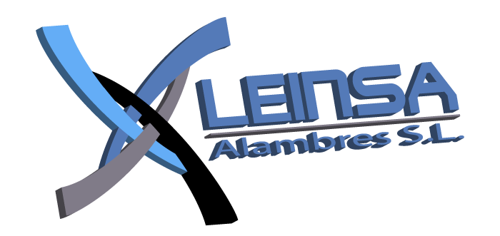 Logotipo de la empresa Leinsa Alambres S.L. en 3d
